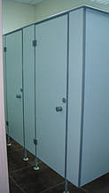 Автосалон (Киевская обл.): внутренние перегородки - алюминиевые, цельностеклянные, сантехнические 12