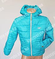 Куртка для девочек демисезонная с капюшоном