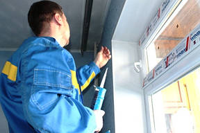 Как утеплить откосы пластиковых окон?