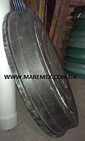 Люк полімерпіщаний чорний 30 т (Л)