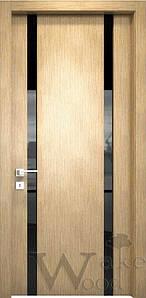 """Межкомнатные двери """"WakeWood"""" Glass (две полосы)"""