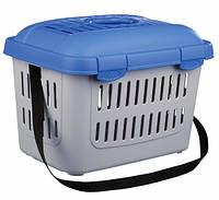 Переноска Trixie Midi-Capri для собак, с ремнем, 44х33х32 см