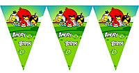 Гирлянда Angry birds 2 метра