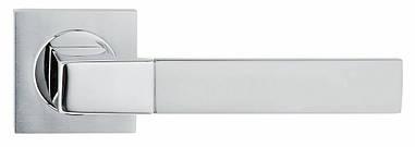 Ручка дверная Linea Cali Thais на 019 розетке, матовый хром/хром