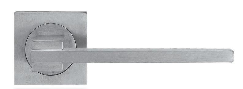 Ручка дверная Linea Cali Slim на 019 розетке, матовый хром
