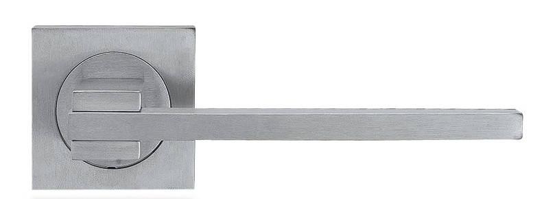 Ручка дверная Linea Cali Slim на 019 розетке, матовый хром, фото 2