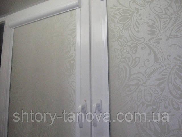 Рулонные шторы софи крем