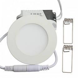 Кругл.3W-4000K точечный LED светильник Down Light Plastic