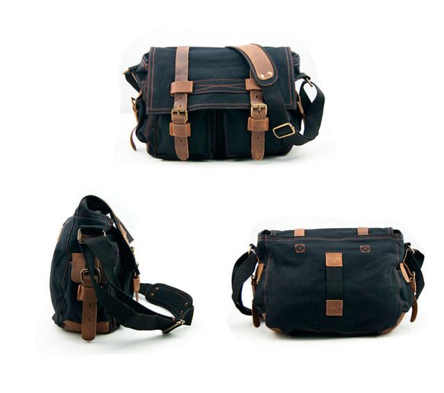 Мужская сумка Augur | черная.