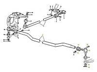 Каталог запчастей#Поперечная тяга рулевого механизма 4х4 , 6х6