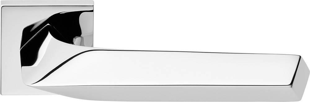 Ручка дверная Linea Cali Rombo на 019 розетке, хром, фото 2
