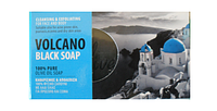 Черное вулканическое оливковое мыло VOLCANO.