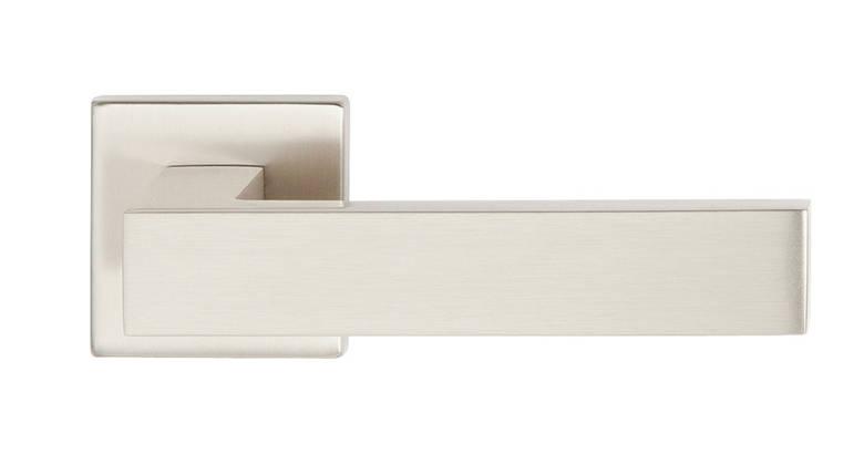 Ручка дверная ALMAR CANTO на розетке d52x52 мм, фото 2