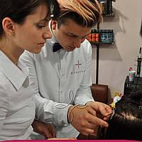 Обучение Наращиванию Волос: Капсульное наращивание