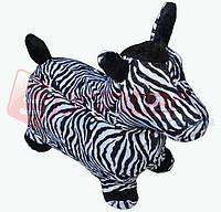 Надувная игрушка-попрыгунчик зебра (ткань)