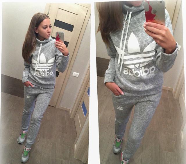 8e9cec38 Теплый женский спортивный костюм Adidas Original