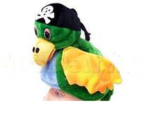 Шапка  карнавальная  Попугай пират