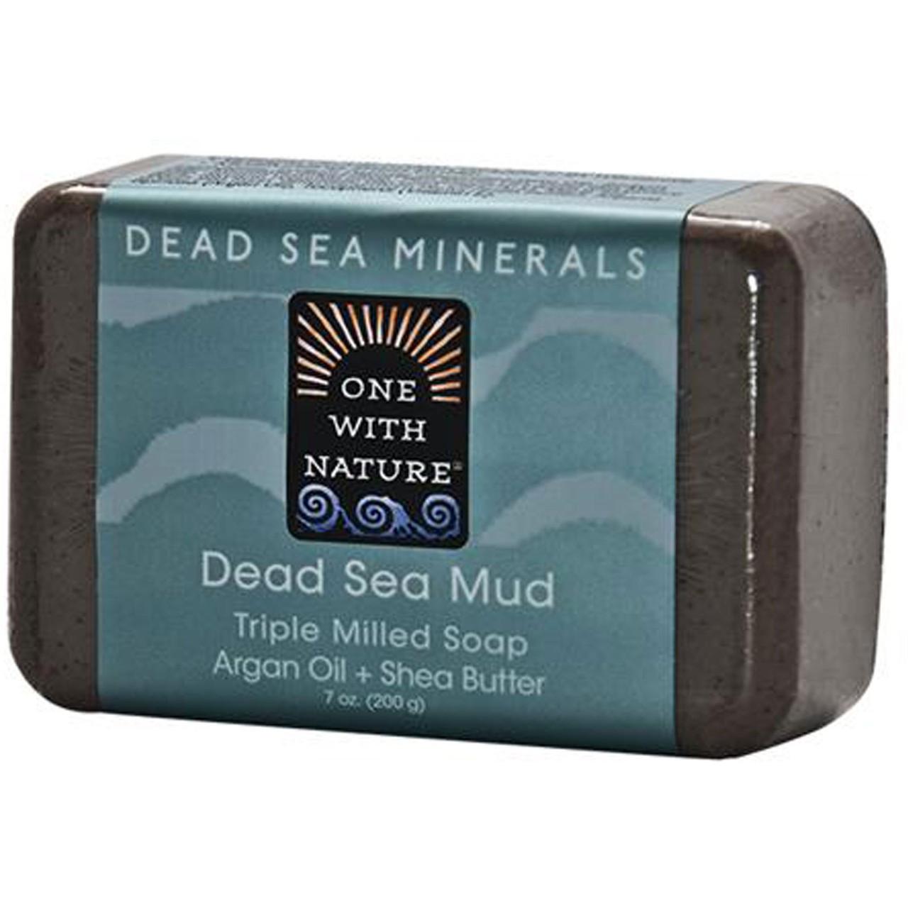 Мыло из минералов Мертвого моря One with Nature, 200 г