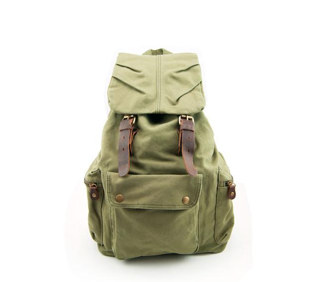 Городской рюкзак Sccotton | зеленый. Вид спереди.