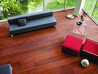 Ламинат Quick-Step Largo Natural varnished  Merbau planks (Мербау натуральная лакированная) LPU1288