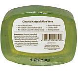 Натуральное глицериновое мыло, Алоэ Вера, Clearly Natural, Essentials, 4 унции (113 г), фото 2