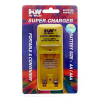 Зарядное устройство Hi-Watt BC2. Зарядные устройства для Ni-MH аккумуляторов, для аккумуляторных батареек