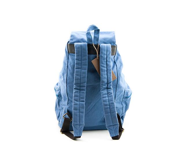 Городской рюкзак Sccotton | светло-синий. Вид сзади.