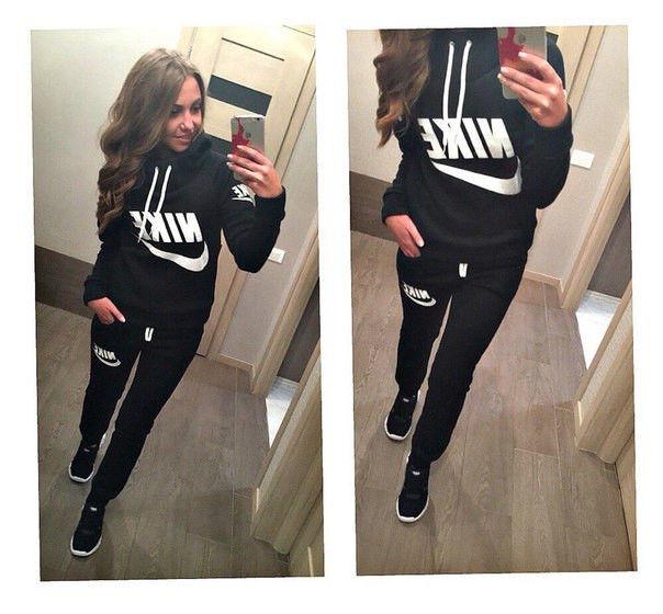c73be84c Теплый спортивный костюм Nike, женский (два цвета)