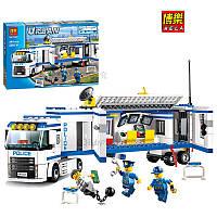 Конструктор Bela Urban Мобильный полицейский штаб 10420 (аналог Lego city 60044)