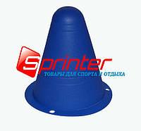 Фишка напольная для роллеров.9см синий