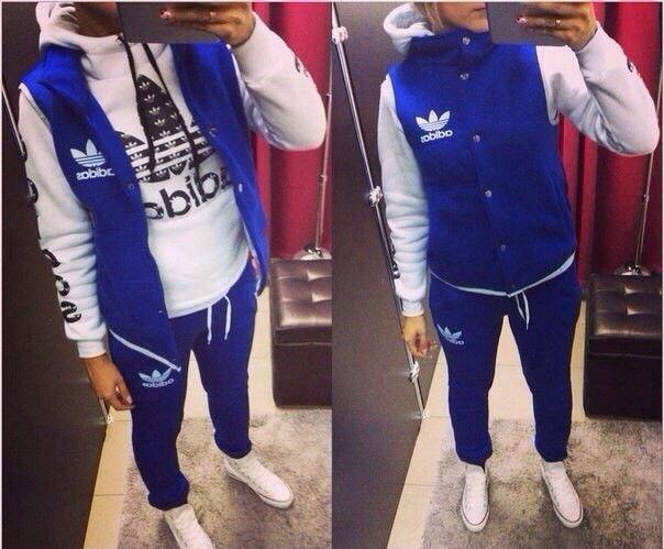 9549254a Утепленный женский спортивный костюм Adidas Original (тройка) - Sport  Active People - Интернет Магазин