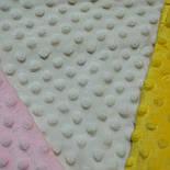 Плюш minky молочного цвета (слоновая кость), фото 5