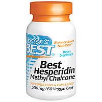 Гесперидин, Doctor's Best, 500 мг, 60 растительных капсул.