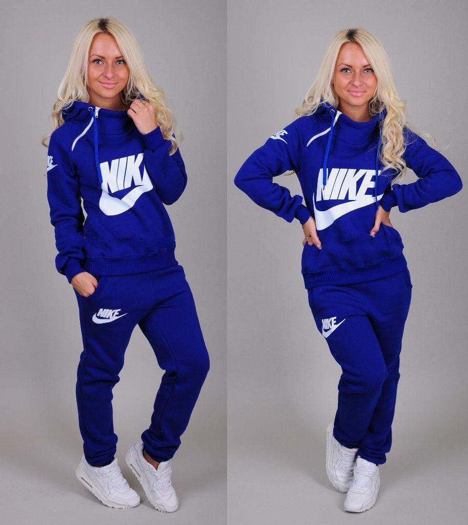 a2c9e0f5 Утепленный спортивный костюм женский Nike