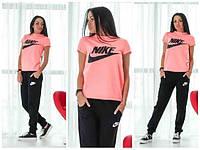 Спортивный костюм женский Nike, двойка (штаны и футболка)