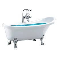 Ванна акриловая отдельностоящая 170х75 Atlantis C-3015 Silver, фото 1