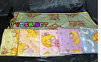 Наматрасник непромокаемый 120х60 см, резинка по углам (c рисунком)  , цвет на выбор