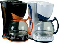 Вкусный кофе. Кофеварка Maestro MR-400, капельная, 1250 мл, 800 Вт +подогрев чашек.Кофеварки, кофемашины бытов
