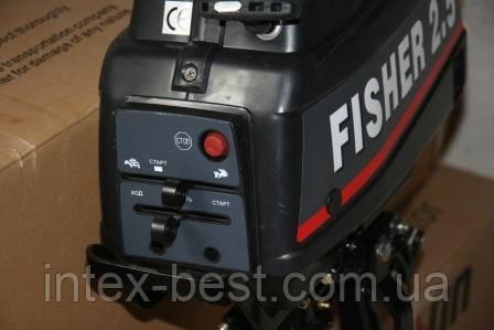 Лодочный мотор FISHER 2.5, фото 2
