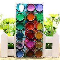 Чехол силиконовый бампер для Lenovo P70 с рисунком Краски, фото 1