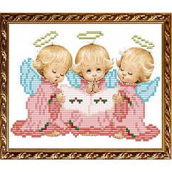 """Рисунок на ткани """"Три Ангелочка"""" VKA5014 ArtSolo"""