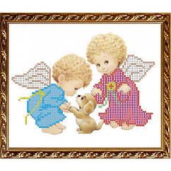 "Рисунок на ткани ""Ангелочки с собачкой"" VKA5007 ArtSolo"