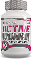 Витамины и минералы для женщин BioTech Active Woman 60 табл
