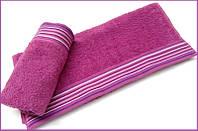 Махровое полотенце 70х130 Arya Gizem фиолетовое