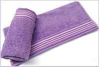 Махровое полотенце 70х130 Arya Gizem лиловое