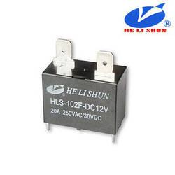 HLS-102F РЕЛЕ (12VDC) ток-20A / контакты-1A