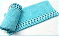 Махровое полотенце 70х130 Arya Gizem светло-бирюзовое