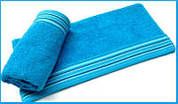 Махровое полотенце 70х130 Arya Gizem бирюзовое