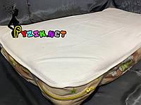 Наматрасник непромокаемый 120х60 см, резинка по углам белый, фото 1