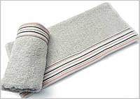Махровое полотенце 70х130 Arya Gizem серое